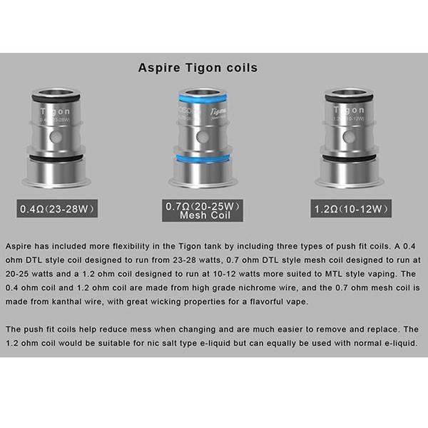 Aspire Tigon Coil 1.2 Ohm MTL