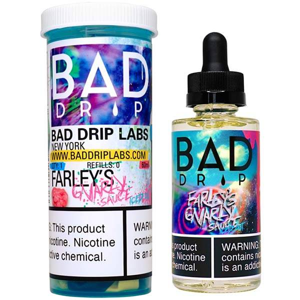 Farley's Gnarly Sauce ICED OUT - 60 ml Bad Drip E-Juice