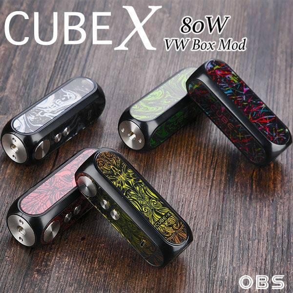 OBS Cube X 80 Watt Mod